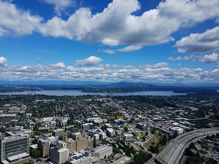 Seattle Sky View Observatory View